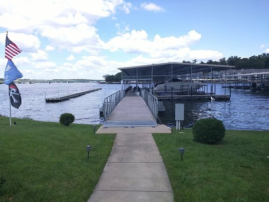 Robin S Resort Walkway To Just 1 Of Our 4 Boat Docks