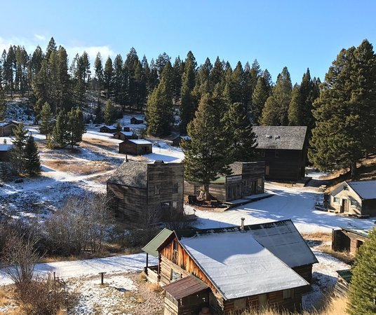 Missoula, MT: Garnet Ghost Town