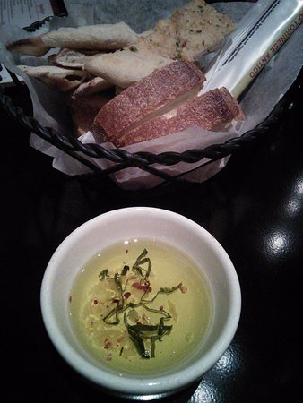 Spring, TX: Bread and olive oil