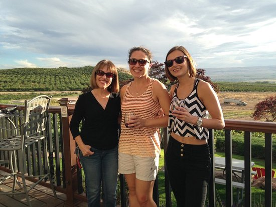 Star, ID: Enjoying the wine and view at Ste. Chapelle!