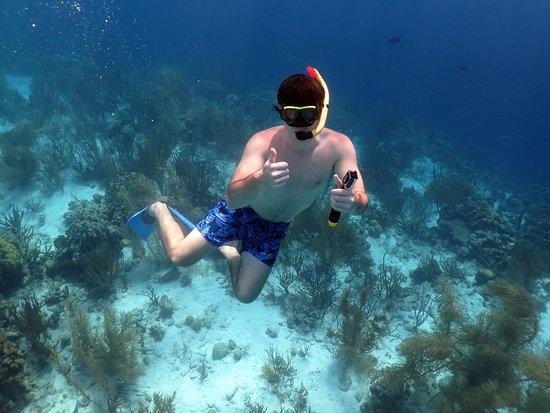 Kralendijk, Bonaire: One of Pierre's pictures of me