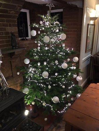 Wymondham, UK: Bar Christmas Tree