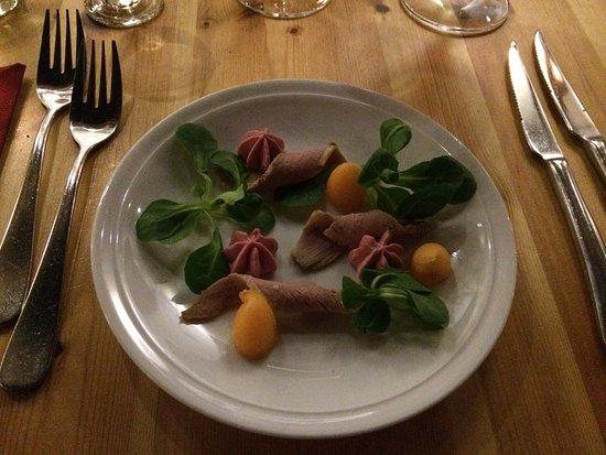 Randers, Denmark: Andebryst og steak