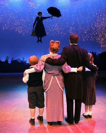 Racine, WI: Mary Poppins soars over the rooftops of London - 2015