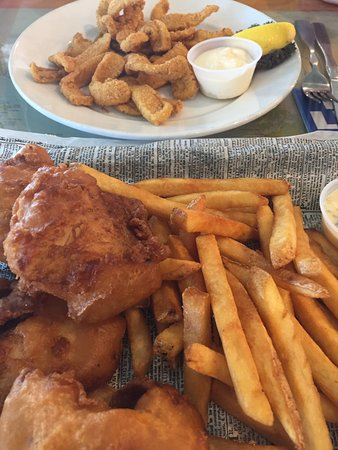 North Palm Beach, FL: Calamari&Fish&ChipsPlate
