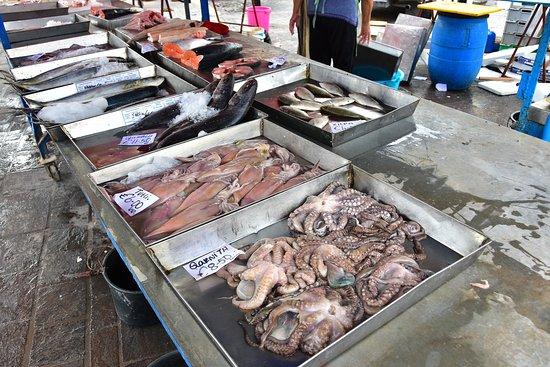 Marsaxlokk, มอลตา: Fresh fish