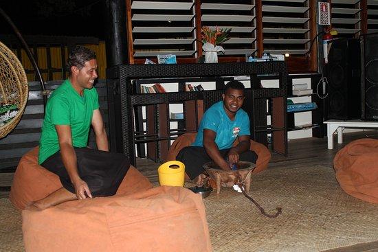 Malolo Island Resort: Cérémonie du KAVA