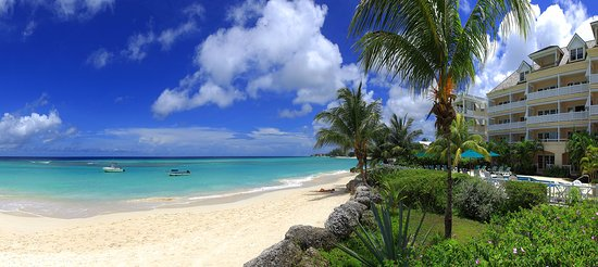 Worthing, Barbados: Beach front view.