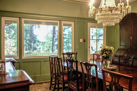 Shawnigan Lake, Canada: Dining area
