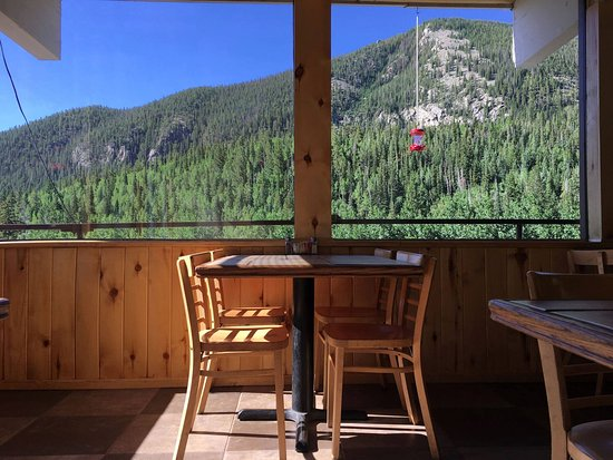 The Grill at Monarch Mountain Lodge offers fresh food with a view