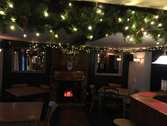 Dereham, UK: Getting Christmassy at The Queens Head 🎉