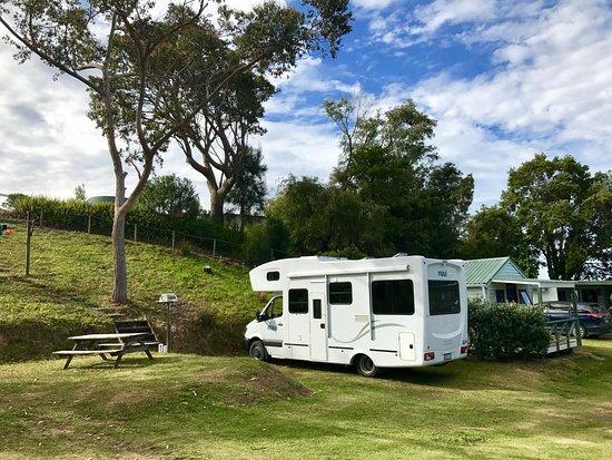 Pukenui, Nueva Zelanda: Our Powered campsite