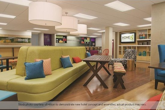 Prattville, AL : The Oasis, our lobby that is the social hub of the hotel, open 24/7 for our guests.