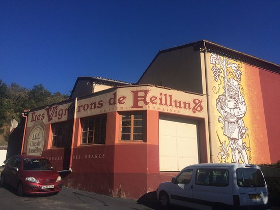 Saint-Paul-de-Fenouillet, France: Winery in Feilluns (T. Egli)