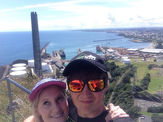 New Plymouth, Nuova Zelanda: Awesome day up there today love it 😊👍