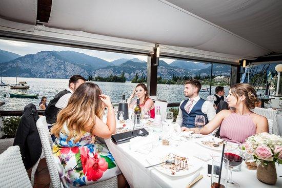 La Voglia: guests and the view