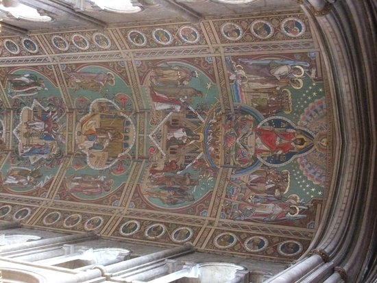 Ely, UK: Wonderful ceiling.
