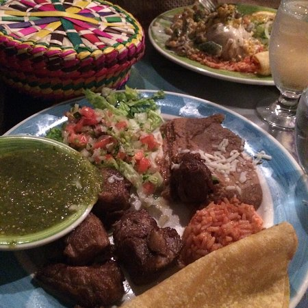 Waterville Valley, NH: a mexican meat dish