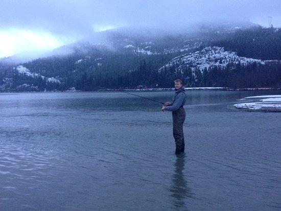 Pemberton, كندا: the beautiful Green Lake near whistler village