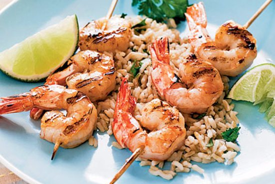 Beltsville, MD: Asado's local Tequila Cilantro Shrimp