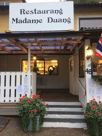 Bastad, Sweden: Entre till restaurang