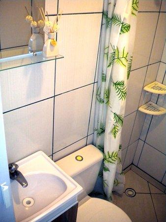 Estado de São Paulo: banheiro do quarto para 2 pessoas