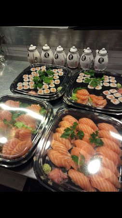 Pontassieve, Italia: Sushi da asporto fatto su momento