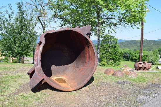 Ducktown Basin Museum - Smelting Pot
