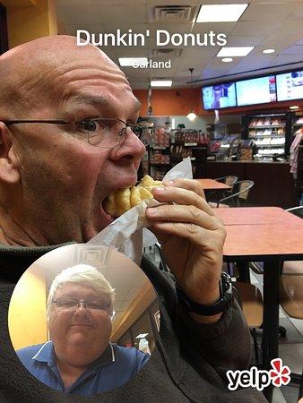 Гарлэнд, Техас: Pumpkin donut and Scott