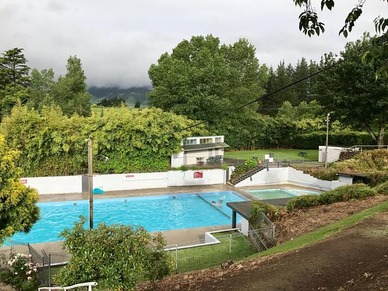 Matamata, New Zealand: 3 pools of varying degrees