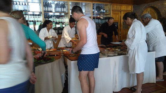 Hotel & Spa Termas Cacheuta: Restaurant del hotel