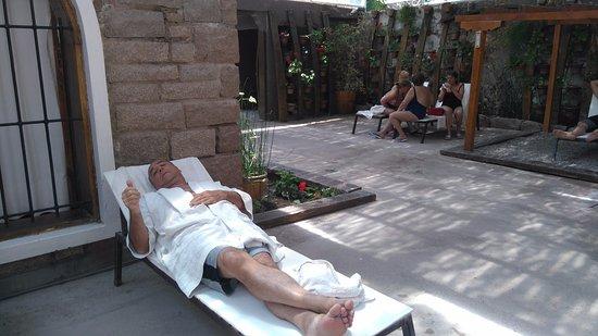 Hotel & Spa Termas Cacheuta: Zona de relax