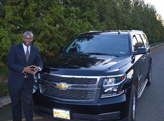 Beaverton, OR: Ron Wamala, owner and operator of Luxury Ride For You