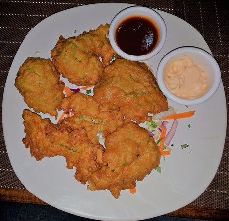 Orange Walk, Belize: Fritters