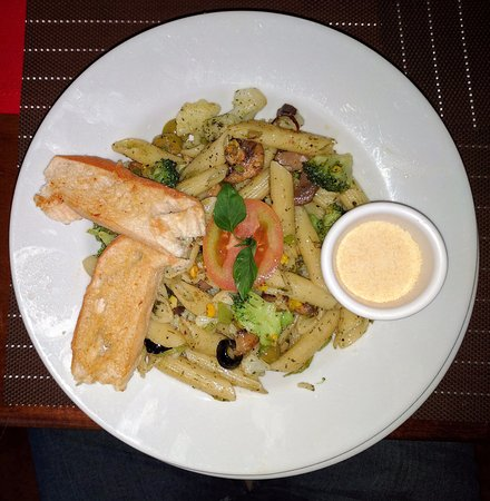 Orange Walk, Belize: Penne Pasta