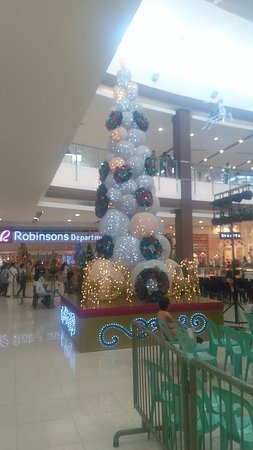 Роксас, Филиппины: Xmas time in Robinson Mall