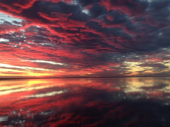 Херви-Бей, Австралия: Sunset Dundowran beach