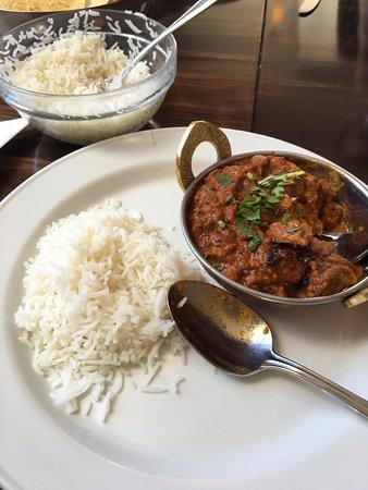 Timaru, New Zealand: Mushroom curry