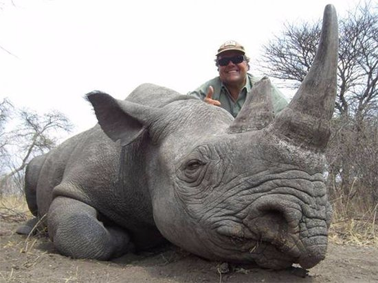 Roseland, NJ: The owner with endangered black rhino he shot -- vote with your feet