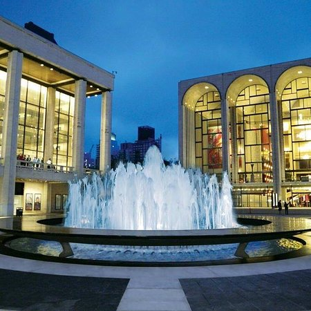 Lincoln Center for the Performing Arts: Glorious fountain