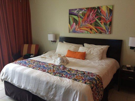 Flamingo Beach Resort & Spa: Increible la habitacion