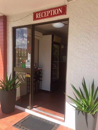 Bundaberg Spanish Motor Inn: Reception