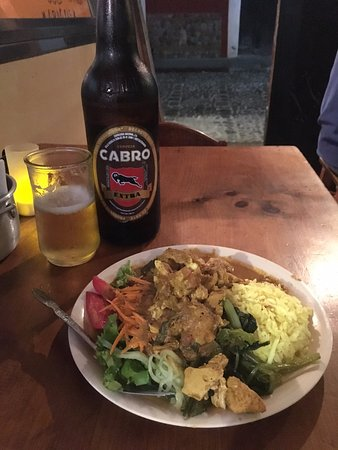 Toko Baru: Chicken Tiki Marsala + a massive Cabro Beer