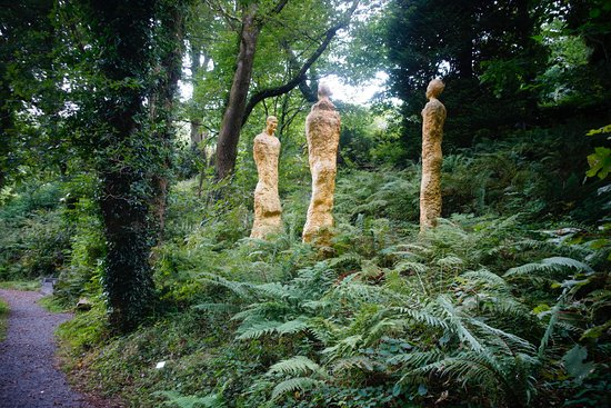 Muddiford, UK: Broomhill Art Hotel Sculpture Garden