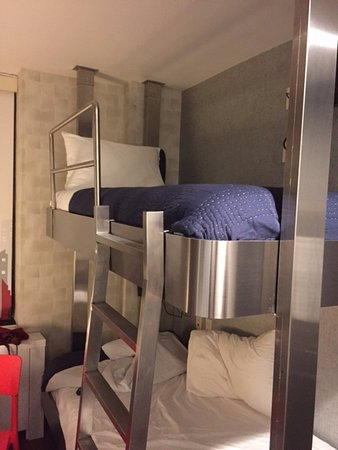200 4 Star Room With Bunk Beds Picture Of The Paul Nyc Hotel New