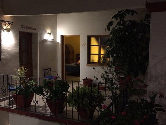 Hotel Parador San Agustin: wejście do pokoju z patio