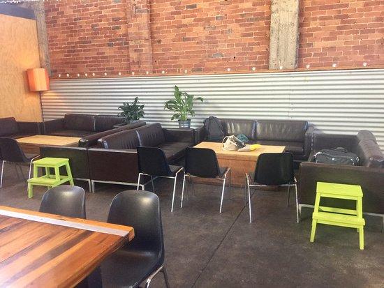 Richmond, Australia: Great seating area