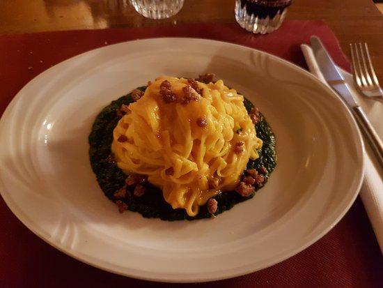 Falconara Marittima, Italy: Tagliatelle con crema di verdure