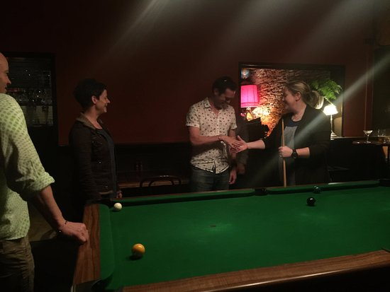 Richmond, Australia: The billiard room - good seating and vibe