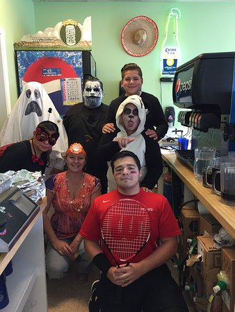 Payette, ID : Halloween at salsa grill.